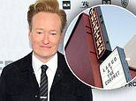 Conan O'Brien will become the first late-night host to resume filming on stage on July 6