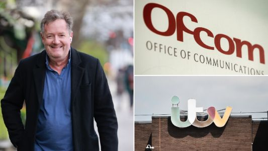 What does Ofcom do as Piers Morgan is cleared?