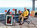 My Haven, Jeffrey Archer: Novelist, 80, in clifftop writing room at his house near Palma in Majorca