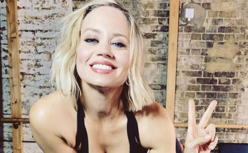 Kimberly Wyatt 'reached deep into her soul' to perform with Pussycat Dolls weeks after C-section