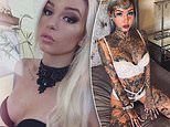 Amber Luke shares never-before-seen picture before spending 120k on body modifications and tattoos