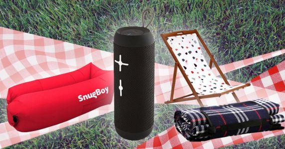 Everything you need for the ultimate picnic - from food to baskets to blankets