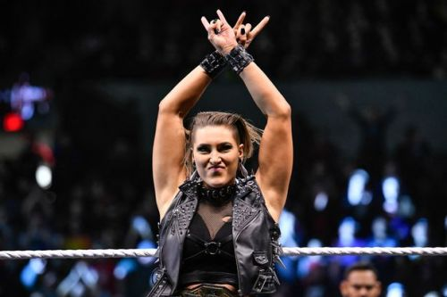 WWE's Rhea Ripley discusses tattoo match idea and her plans for Charlotte Flair