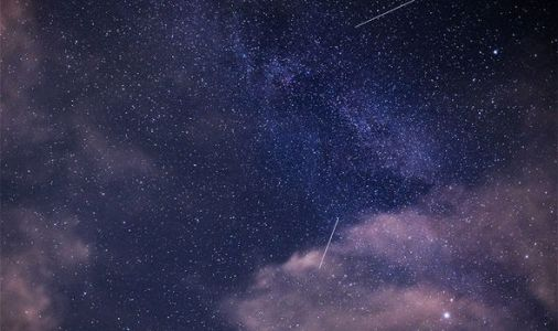 Meteor shower in pictures: Shooting stars soar across the sky in these Perseid photos
