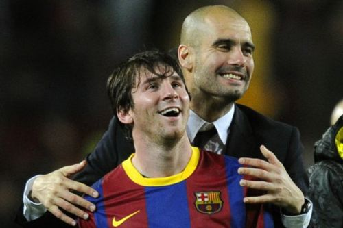 Pep Guardiola responds to claims Man City are interested in signing Lionel Messi