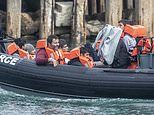 Children among 18 Iraqi and Iranian migrants found crammed on a small inflatable boat off Kent coast