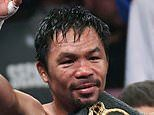 Manny Pacquiao reveals he has tested NEGATIVE for coronavirus after contact with a politician