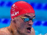James Wilby disappointed he could not win a medal in 200m breaststroke final for NHS nurse mother
