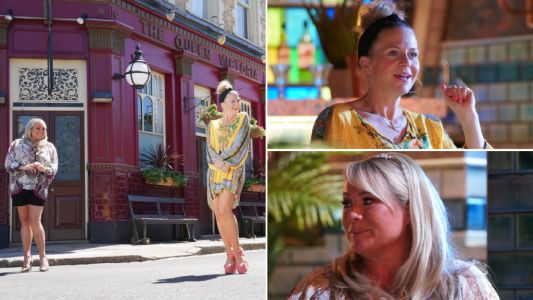 10 new EastEnders images reveal first-look at Secrets From The Square landladies special