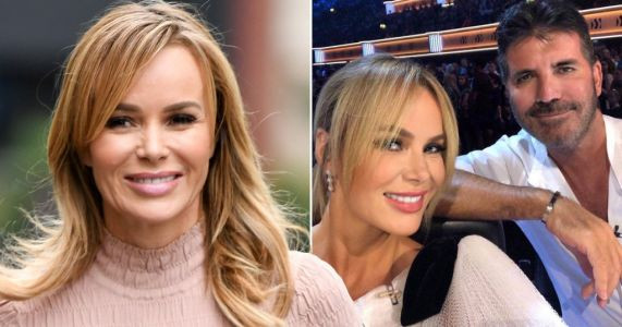 Amanda Holden assures fans Simon Cowell is 'doing really well' following surgery after bike accident