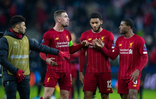 Gini Wijnaldum travels as Liverpool confirm final 20-man squad for Club World Cup