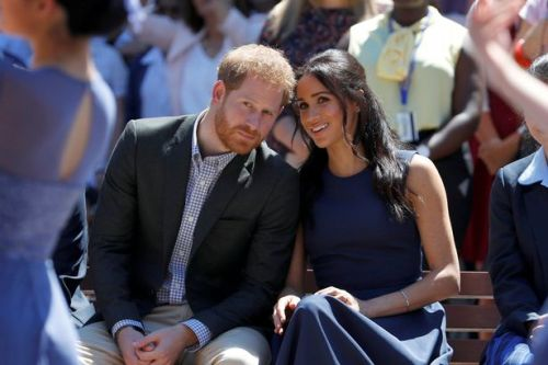 Meghan Markle and Prince Harry voted most respected royals after Queen in survey