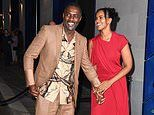 Idris and Sabrina Elba cosy up ahead of the British Vogue x Tiffany & Co. fashion and film party