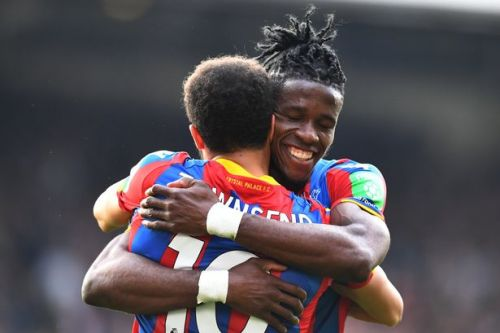 Andros Townsend claims Wilfried Zaha should be playing in Champions League