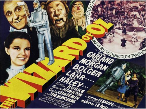 When was The Wizard of Oz made and what other movies were its stars in?