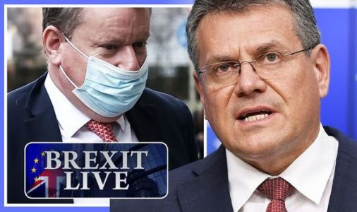 Brexit LIVE: Frost in Brussels for showdown with EU rival today - bloc demands UK U-turn