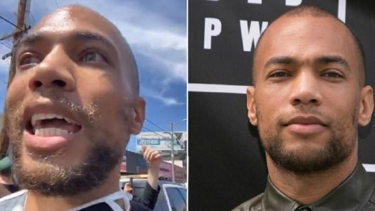 Insecure star Kendrick Sampson 'hit with rubber bullets' during Los Angeles George Floyd protests
