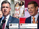 Jim Banks fires back at Eric Swalwell amid Twitter spat over AOC's 'Tax the Rich' Met Gala dress