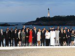 PM Johnson is left in the wings by other world leaders for G7 group photo