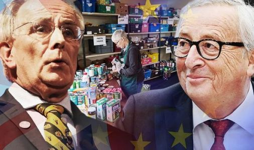 EU BLACKMAIL: Brussels plan to send FOOD AID to UK in 'last throw of dice of Project Fear'