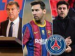 Barcelona presidential candidate threatens to report PSG to FIFA over their pursuit of Lionel Messi