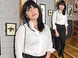 Daisy Lowe steps out in knee-high boots as she spends the night drinking tequila at Percy's