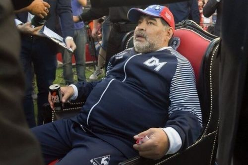Diego Maradona quits as Gimnasia manager following decision from club president