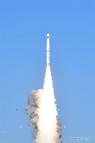 China's Long March 11 rocket lofts Earth-imaging and tech demo satellites