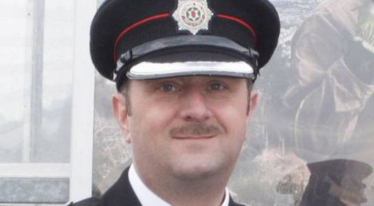 Northern Ireland chief fire officer suspended from duty