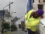 At least one dead and three injured after 18-story Hard Rock Hotel in New Orleans COLLAPSES