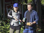 Karl Stefanovic and wife Jasmine enjoy morning stroll in Byron Bay with newborn daughter Harper May