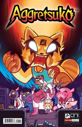 Aggretsuko's Rage Will Be Channeled Into a Furious Comic Book
