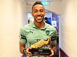 Arsenal striker Pierre-Emerick Aubameyang sees Golden Boot as victory for Africa