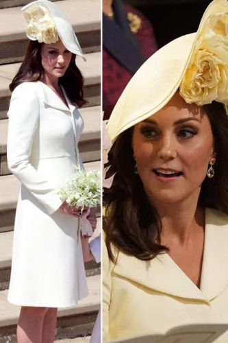 Kate Middleton recycles dress for Royal Wedding: Where you've seen the Duchess of Cambridge's yellow Alexandra McQueen outfit before as royal fans praise wardrobe decision