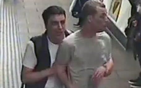 Police hunt two men after Tube tear gas attack