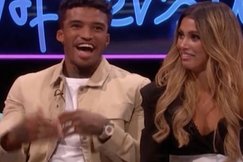 Love Island's Michael Griffiths SQUIRMS as he finally reunites with Joanna Chimonides following shock dumping - and admits he wants her back