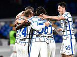 Napoli 1-1 Inter Milan: Antonio Conte's side now nine points clear at the top of Serie A