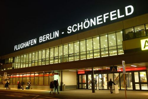 Schönefeld Airport incident: Man wearing vest with wires hanging out of it sparks major security operation