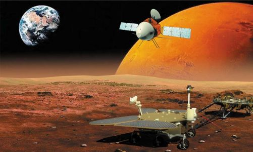 China lands its first probe on Mars