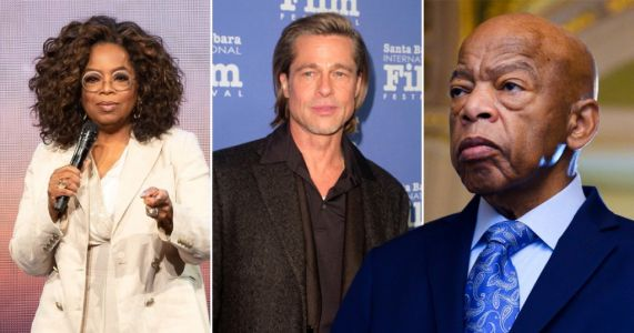 Oprah Winfrey and Brad Pitt among stars taking part in TV tribute to late civil rights icon John Lewis