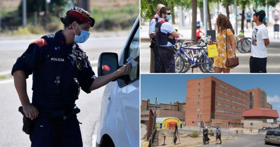 Spanish city becomes first in country go back into draconian-style lockdown