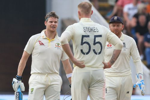 Australia heroes Steve Smith and Shane Warne react as Ben Stokes is added to England's Ashes squad