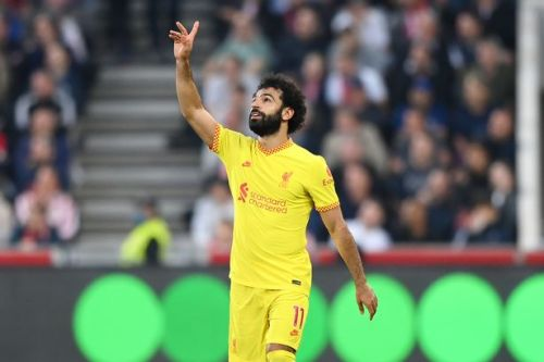 Mohamed Salah sets new Liverpool record with 100th Premier League goal