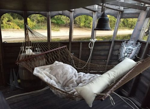 You can now rent an entire pirate ship on Airbnb
