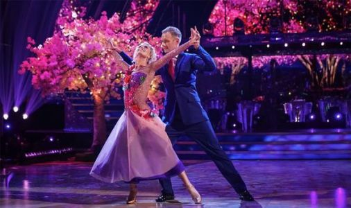 Dan dedicates dance to woman who waltzed off with his heart