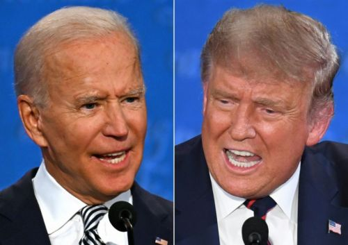 Joe Biden snaps 'Will you shut up man!' at Donald Trump during foul-tempered debate