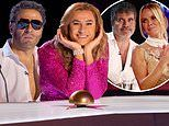 David Walliams looks unrecognisable as he dresses up as BGT co-judges for NTAs