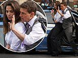 Tom Cruise and Hayley Atwell film gritty shoot-out scenes for Mission Impossible 7 in Rome