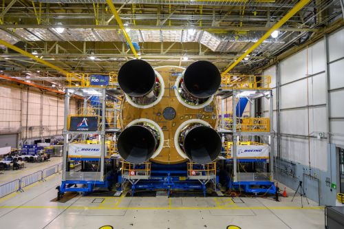 NASA declares first SLS core stage complete