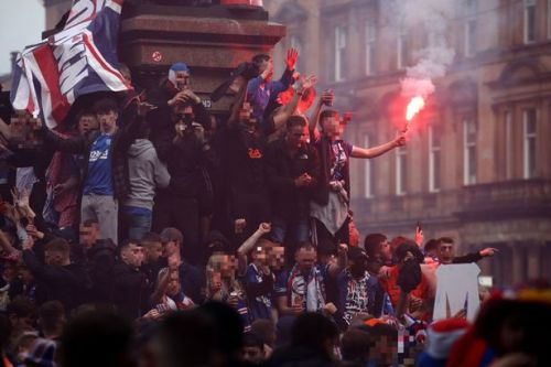"Rangers cop vows ""you will be arrested"" as team probes George Square chaos"